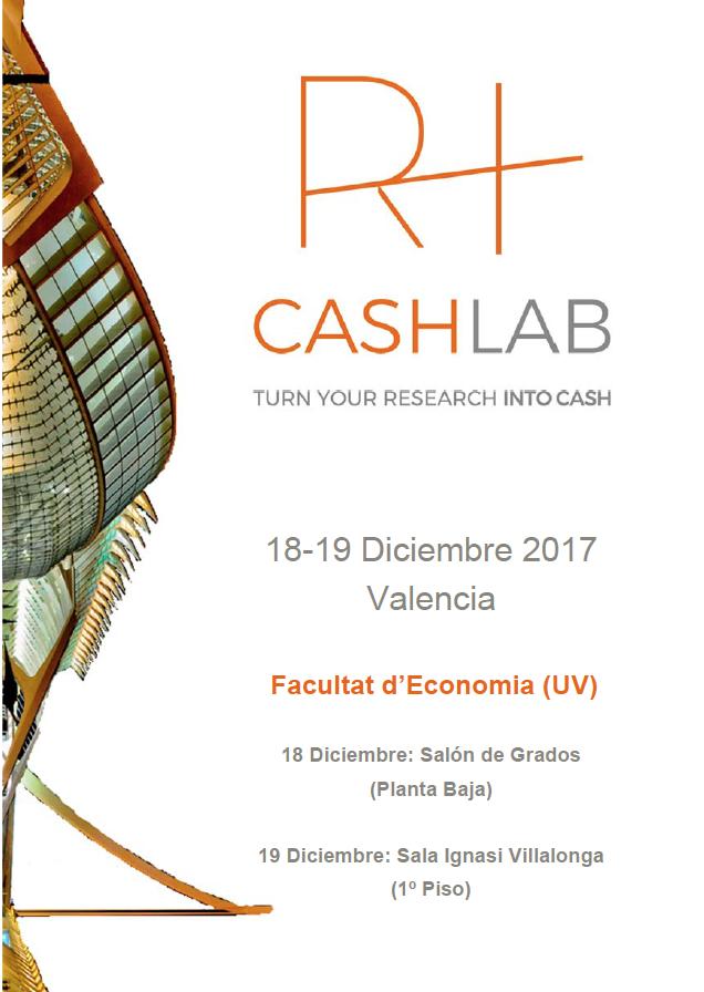 La Facultat d'Economia de la UV acoge las primeras Jornadas de Transferencia Tecnológica Research+Cash