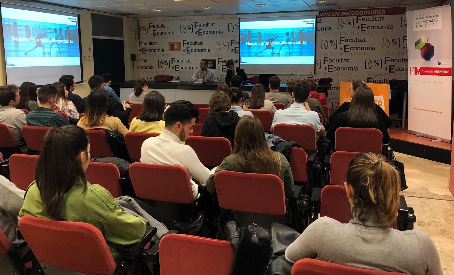 R+ Cash Lab participa en el XIX Foro de Empleo y Emprendimiento de la Universitat de València